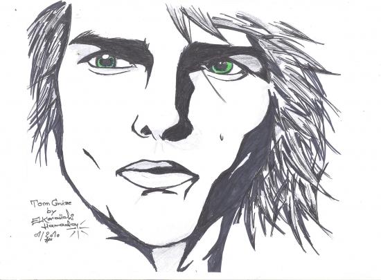 Tom Cruise por hamada-mj-fan